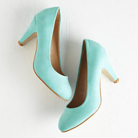 Pastel In a Classic of Its Own Heel in Mint