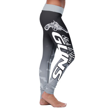 Love Leggings - Gun