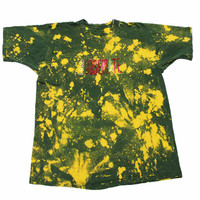 Vintage 90s Hike Yosemite Green Bleached Out Shirt Mens Size XL