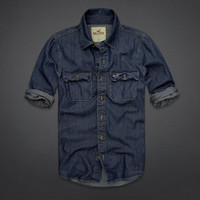 Victoria Beach Denim Shirt