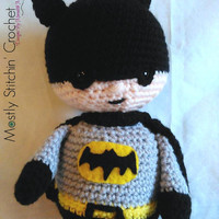 Batman Inspired; CROCHET PATTERN PDF