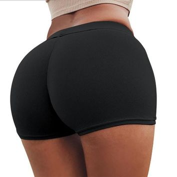 10 Colors Women Gym Compression Booty Shorts Spandex Ladies Volleyball Running lycra Athletic