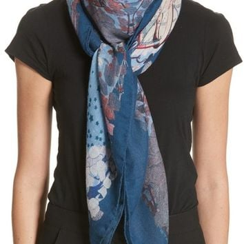 Etro Celestial Print Cashmere Scarf | Nordstrom