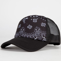 Neff Disney Collection Minnie Womens Trucker Hat Black Bandana One Size For Women 24720612501