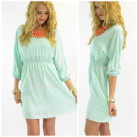 Loveland Mint Dress