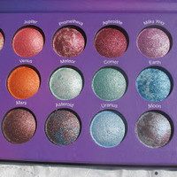 Galaxy Chic 18 Color Baled Eyeshadow Palette by BH Cosmetics | LVMAKEUP