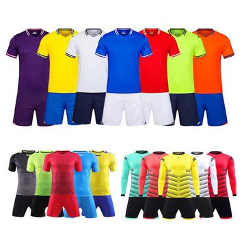 Shinestone New Style Football Shirts Adults Soccer Jersey Custom Football Jersey