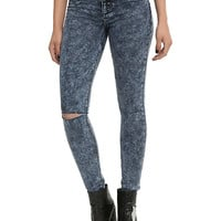 Blackheart Indigo Acid Wash Super Skinny Jeans