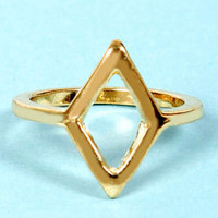 Do or Diamond Gold Knuckle Ring
