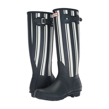 Hunter Original Garden Stripe Tall Rain Boots
