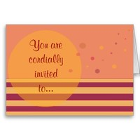 You are cordially invited to...