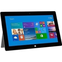 """Microsoft Surface 2 Tablet Refurbished - Windows RT 8.1, 10.6"""" 1920x1080 1080P LCD Touchscreen, Front and Rear Camera Office RT 2013 Included"""