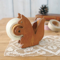 Japanese Gift Market - Decole - Stationery - Squirrel Tape Dispenser