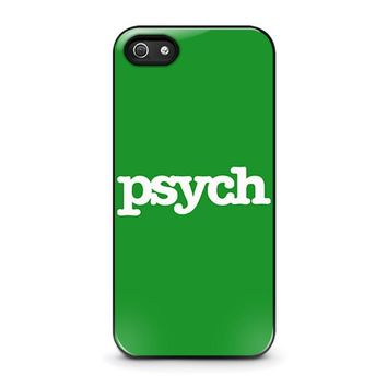 psych iphone 5 5s se case cover  number 2