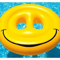 Swimming Pool Inflatable Smiley Face - Inflatable