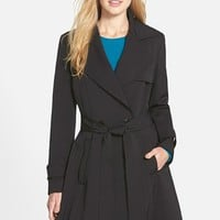 Women's Trina Turk 'Phoebe' Double Breasted Trench Coat ,