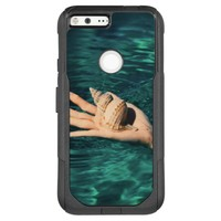 Sea Shell on a Hand in Water OtterBox Commuter Google Pixel XL Case