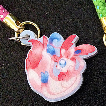 Pokemon X Y Sylveon Phone Charm