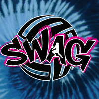 """SWAG"" - Tie-Dye Volleyball T-shirt by VictorySportsGraphics"