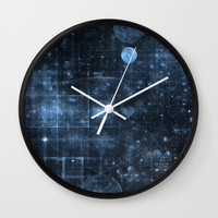 Space and Time Wall Clock by lyle58