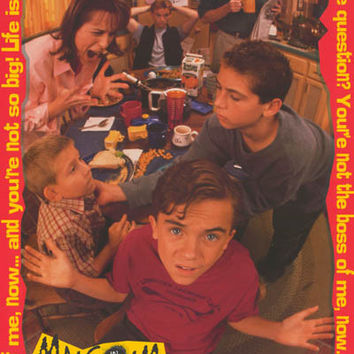 Malcolm in the Middle 2001 Poster 22x34
