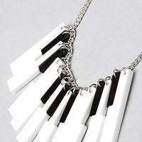 The Piano Time Necklace