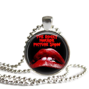 Rocky Horror Picture Show Silver Plated Picture Pendant Necklace