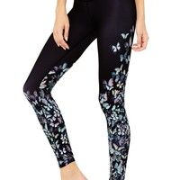 Gypset Goddess x Alo Airbrush Legging - Multi Butterfly