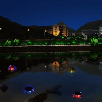 Colorful Solar Floating Lamp LED Water Pond Lights Outdoor Colorful Ball Swimming Pool Light for Decoration for Kids Gifts