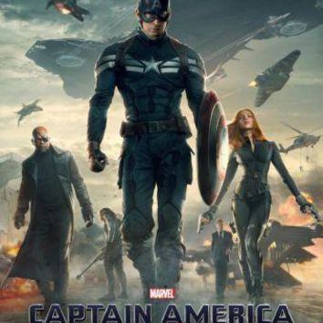 Captain America Winter Soldier Poster Standup 4inx6in