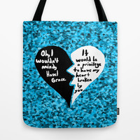 The Fault in Our Stars #3 Tote Bag by Anthony Londer
