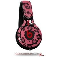 Leopard Skin Pink Decal Style Skin (fits genuine Beats Mixr Headphones - HEADPHONES NOT INCLUDED)