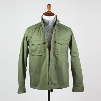 Niche - Army green utility shirt jacket, 70's US Army specs