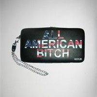 Hustler All American Bitch Hinged Wallet