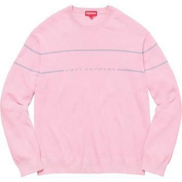 Supreme Love Supreme Sweater - Lt. Pink