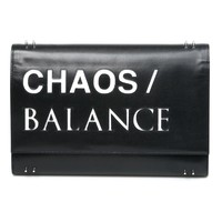 Undercover Printed Clutch Bag