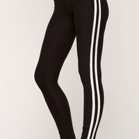 Athletic Stripe Leggings