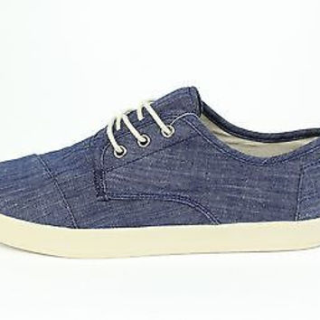 Toms Paseo Light Blue Chambray 10007004 Mens 14