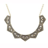 Gypsy Chic Collar Necklace
