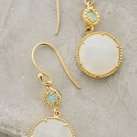 Marchmont Drops by Anthropologie in Mint Size: One Size Earrings