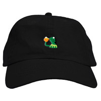 Sipping Kermit Dad Hat