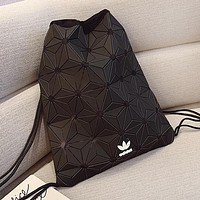 ADIDAS hot seller lady's casual shopping bag fashion stitching grain gradient binding with bucket bag #2