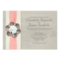 Pearls Wedding Invitations