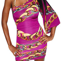 Amazing Love (Purple/Gold)-Great Glam is the web's top online shop for trendy clubbin styles, fashionable party dress and bar wear, super hot clubbing clothing, stylish going out shirt, partying clothes, super cute and sexy club fashions, halter and tube