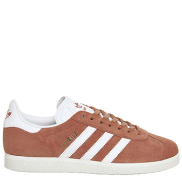 Adidas Gazelle Trainers Future Harvest White Gold - His trainers