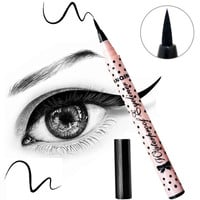 Women's Beauty Makeup Black Eyeliner Waterproof Long-lasting Liquid Eye Liner Pencil Pen Make Up Cosmetic Cute Tool