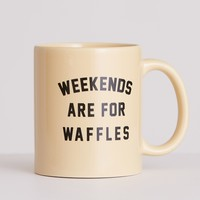 Weekends are for Waffles Mug