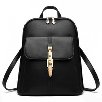 The New Student Backpack Backpack Fashion Leisure Korean Women Shoulder Bags [8833522060]
