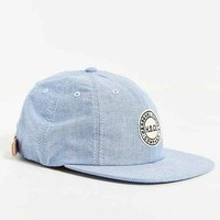 Herschel Supply Co. Glenwood Chambray Strapback Hat- Blue One