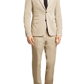 'Reyno/Wave' | Extra Slim Fit, Stretch Cotton Suit by BOSS